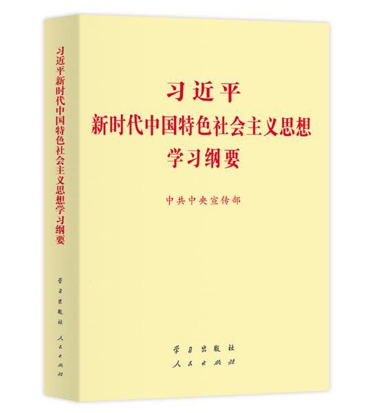 习近平新时代中国特色社会主义思想学习纲要小字 图书批发网