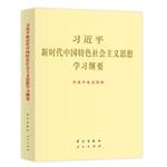习近平新时代中国特色社会主义思想学习纲要大字 图书批发